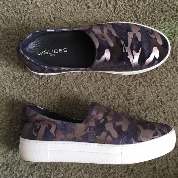 J Slides Shoes | Jslides Ariana Camo